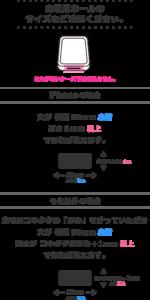 ストラッパー対応スマフォケース条件